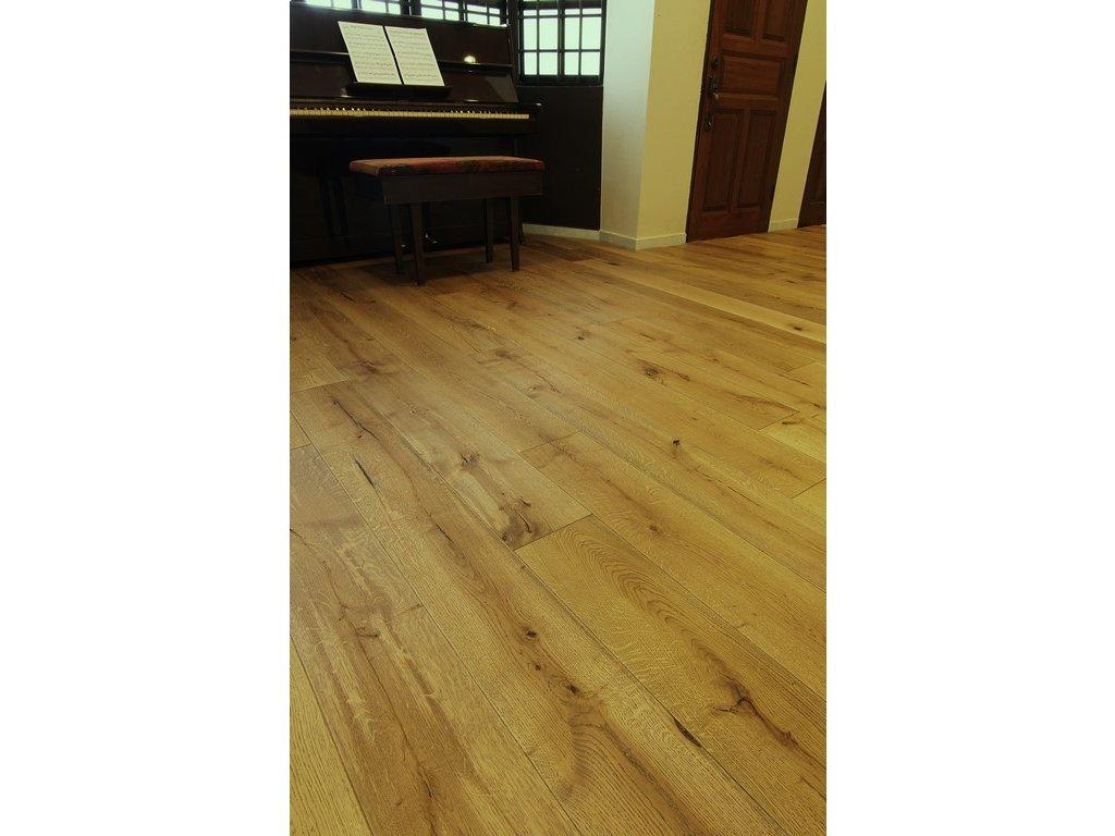 Dřevěná podlaha - Dub vintage royal latin voskový olej - prkno