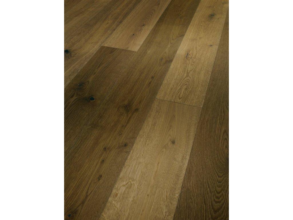 Dřevěná podlaha - Dub zakouřený Rustikal 1601483 olej (Parador) - třívrstvá