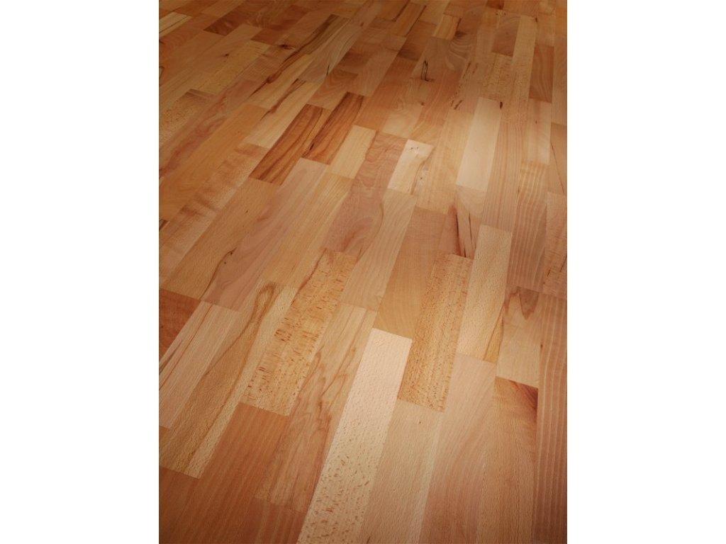 Dřevěná podlaha - Buk Rustikal 1595134 olej (Parador) - třívrstvá
