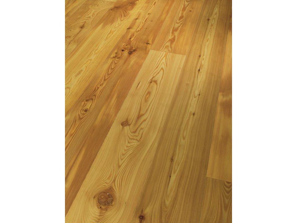 Dřevěná podlaha - Modřín Rustikal 1518244 olej (Parador) - třívrstvá