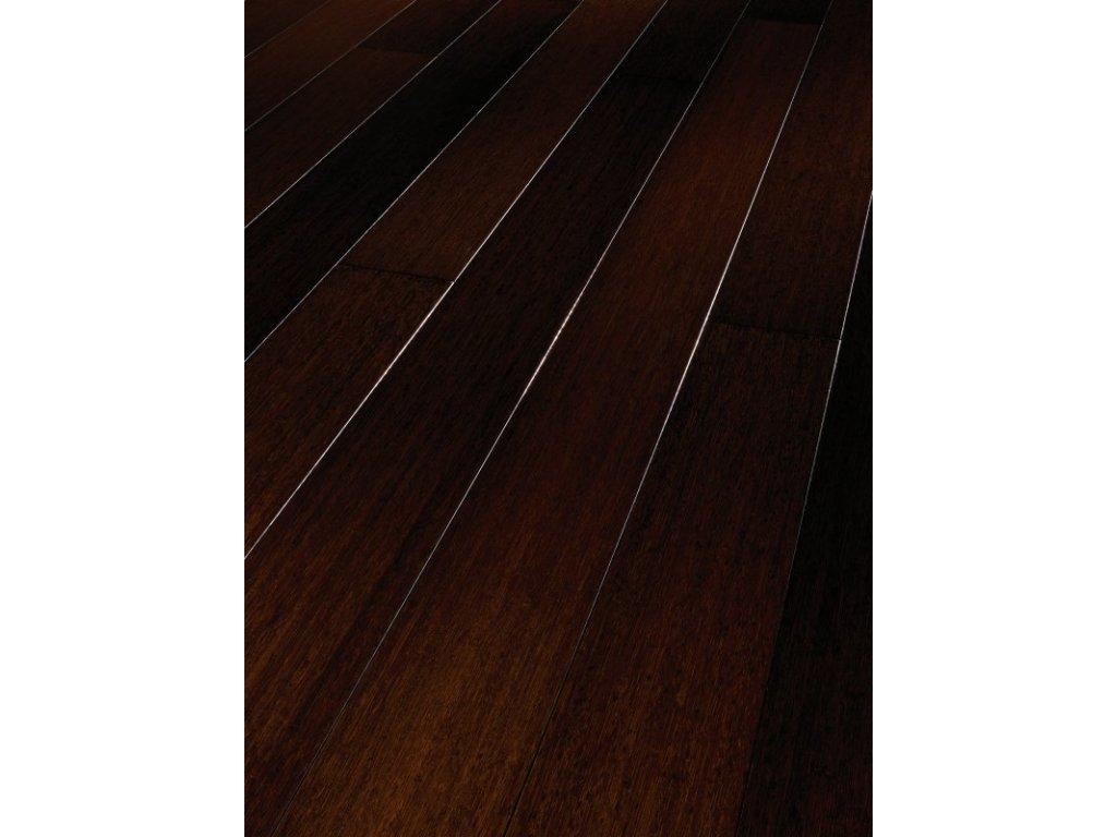 Dřevěná podlaha - Bambus čokoládový Natur 1144697 lak  (Parador) - třívrstvá