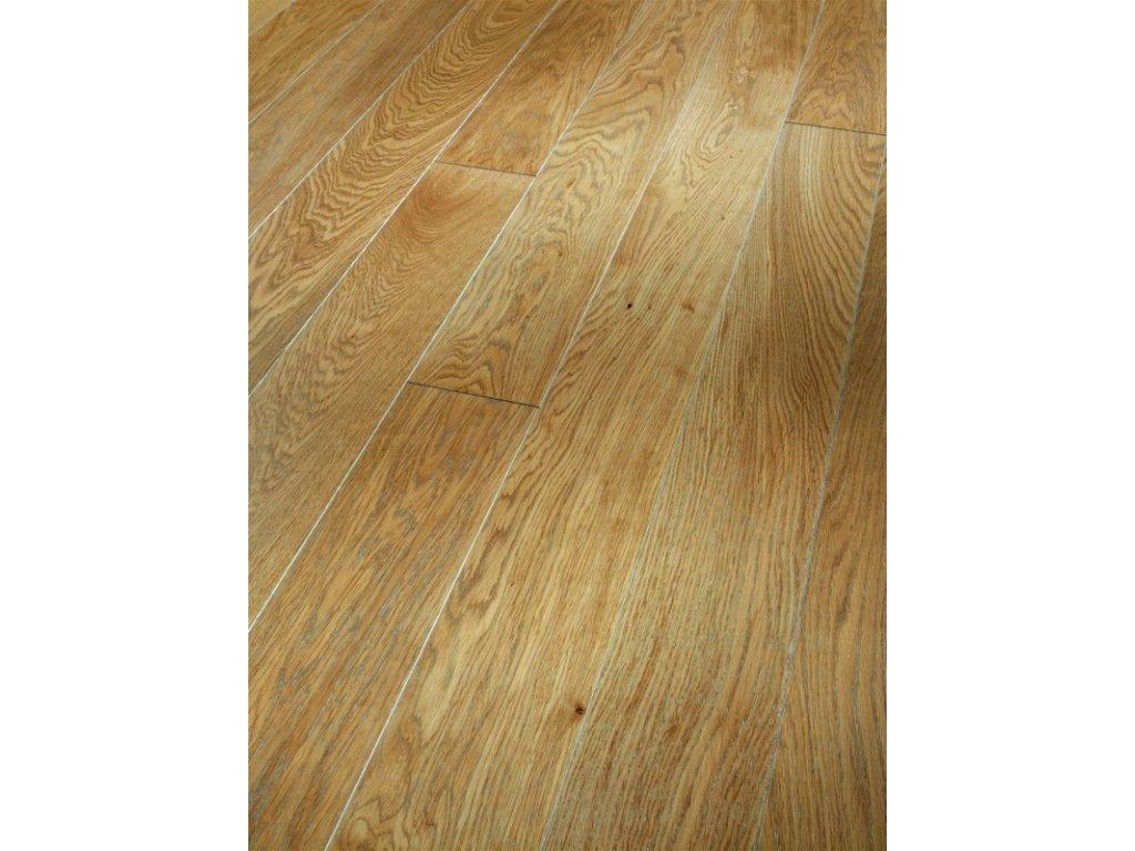 Dřevěná podlaha - Dub pure silver Select 1518192 lak (Parador) - třívrstvá