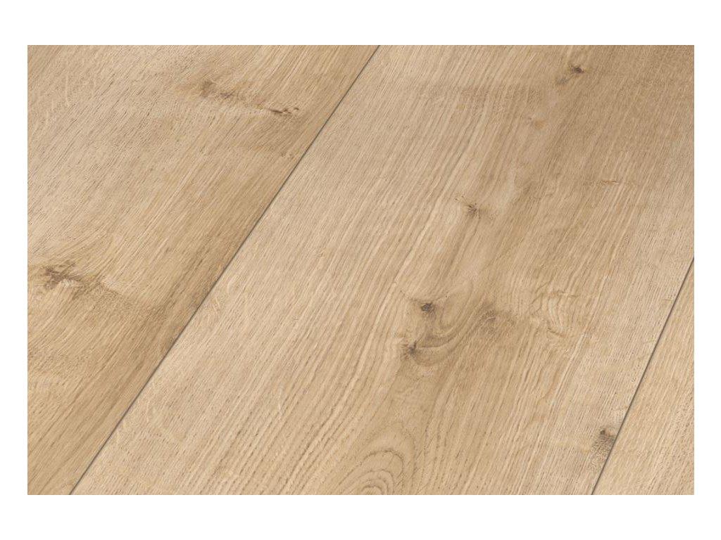 Dub Pure světlý, struktura dřeva, 4-V-drážka (1730803)
