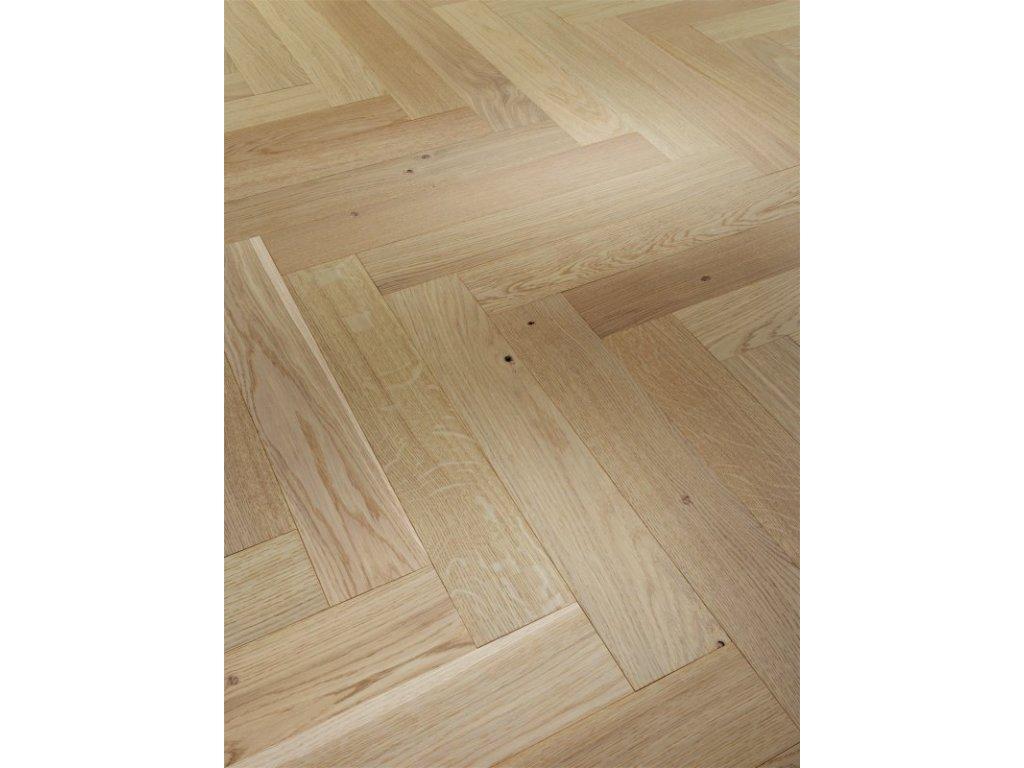 Dřevěná podlaha - Dub Pure Living 1601580 lak (Parador) - třívrstvá