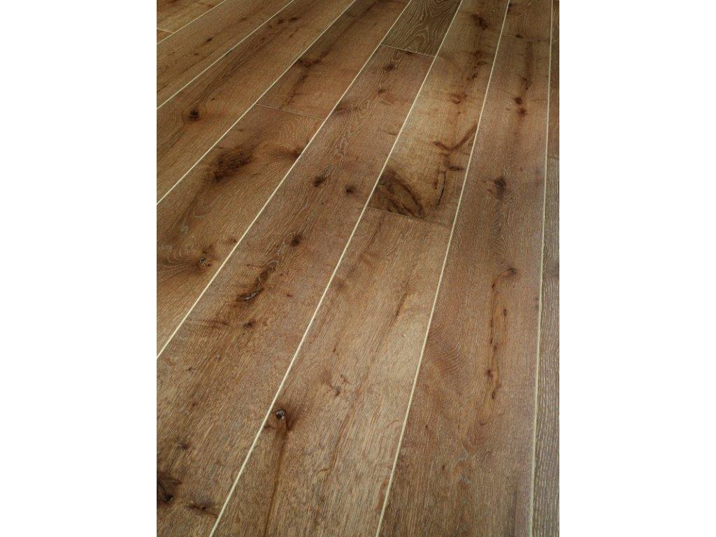 Dřevěná podlaha - Dub Château Rustikal 1368900 lak (Parador) - třívrstvá