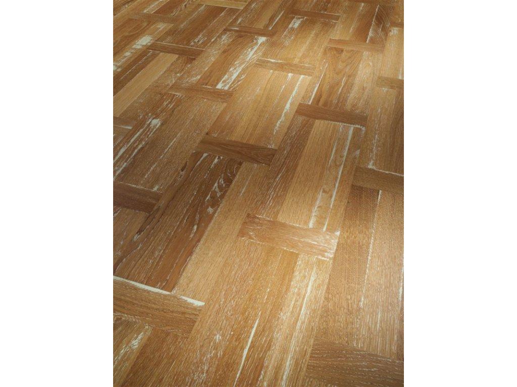 Dřevěná podlaha - Dub bílý Vintage Natur 1518311 olej (Parador) - třívrstvá