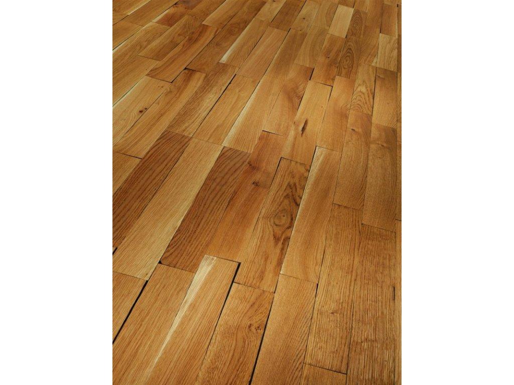 Dřevěná podlaha - Dub Living Old Block 1475200 olej (Parador) - třívrstvá