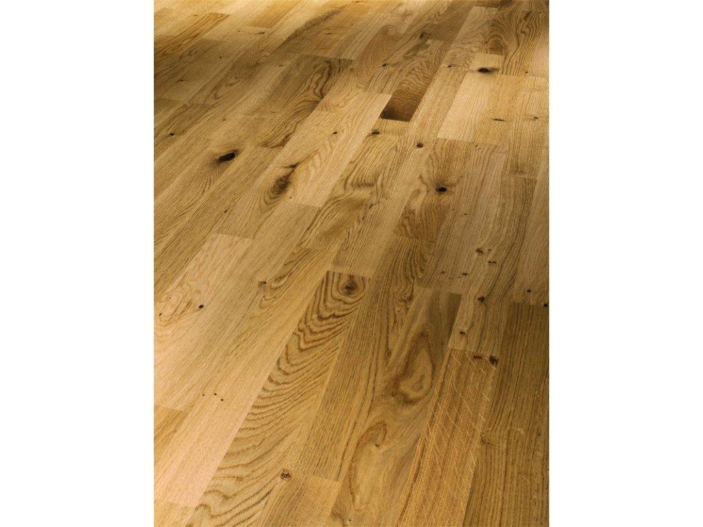 Dřevěná podlaha - Dub sukovitý Rustikal 1518245 lak (Parador) - třívrstvá