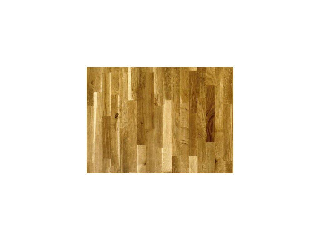 Dřevěná podlaha - Dub country lak (Strawberry parkett) - třívrstvá