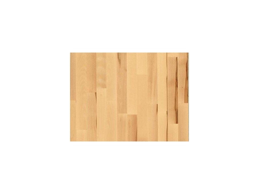 Dřevěná podlaha - Buk struktura lak, 3 parketa (Scheucher) - třívrstvá