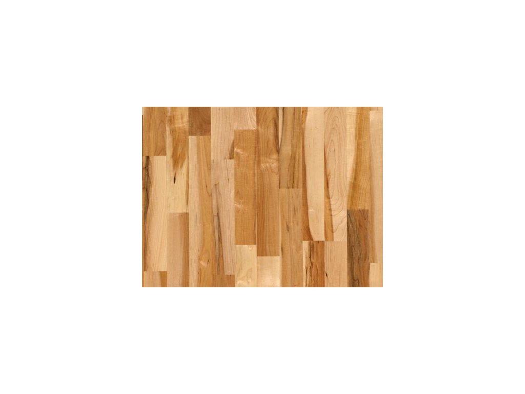 Dřevěná podlaha - Javor kanadský struktur lak, 3 p. (Scheucher) - třívrstvá