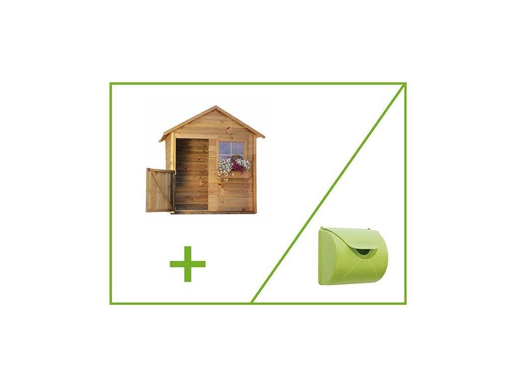 detsky domecek matyas+dopisni schranka zahrada pro deti domek brno dreveny domek|e podlaha