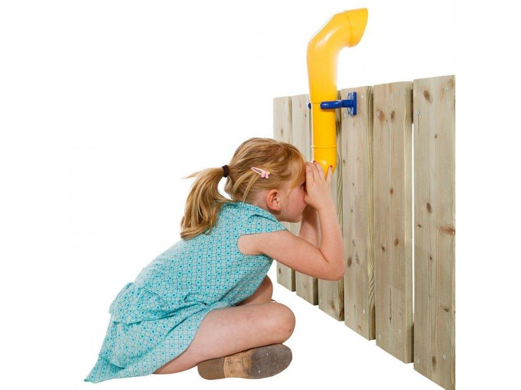 detske hriste periskop zluty modry pro deti dum zahrada pro deti domek brno dreveny domek|e podlaha