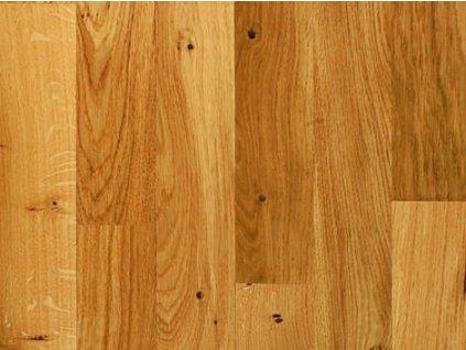 Dřevěná podlaha - Dub sukatý lak (Scheucher) - dvouvrstvá