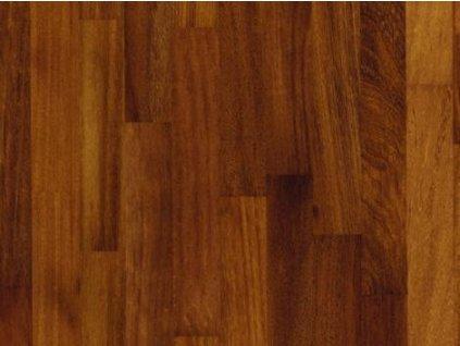 Dřevěná podlaha - Iroko/kambala lak (Scheucher) - dvouvrstvá