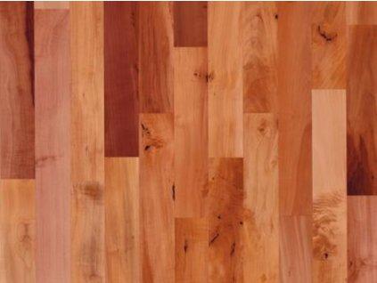 Dřevěná podlaha - Hrušeň pařená struktur lak (Scheucher) - dvouvrstvá