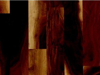 Dřevěná podlaha - Ořech americký struktur lak (Scheucher) - dvouvrstvá