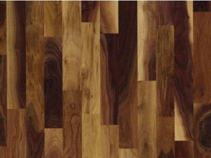 Dřevěná podlaha - Ořech americký natur lak (Scheucher) - dvouvrstvá