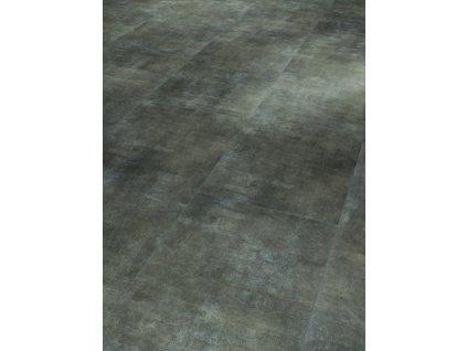 Plovoucí vinylová podlaha - Mineral black, struktura minerálni, 4-V-drážka 1602129 (Parador)