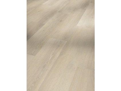Plovoucí vinylová podlaha - Dub Skyline bílý, kartáčovaná struktura 1601426 (Parador)