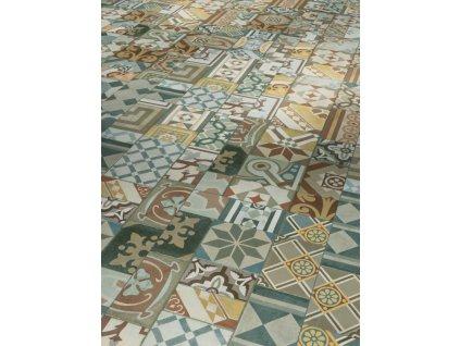 Plovoucí vinylová podlaha - Ornamentic colour, struktura minerální, 4-V-drážka 1602132 (Parador)