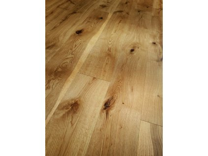 Dřevěná podlaha - Dub Rustikal 1396114 lak (Parador) - třívrstvá