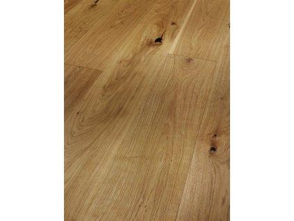 Dřevěná podlaha - Dub Rustikal 1601464 lak (Parador) - třívrstvá