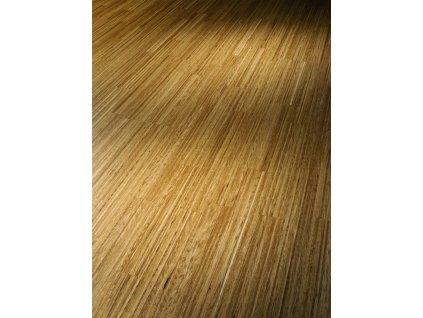 Dřevěná podlaha - Dub Fineline Natur 1518112 lak (Parador) - třívrstvá