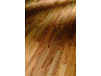 Dřevěná podlaha - Třešeň evropská pařená Living 1518116 lak (Parador) - třívrstvá