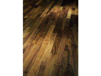Dřevěná podlaha - Vlašský ořech Living 1518118 lak (Parador) - třívrstvá