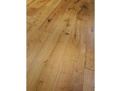 Dřevěná podlaha - Dub Rustikal 1288415 lak (Parador) - třívrstvá