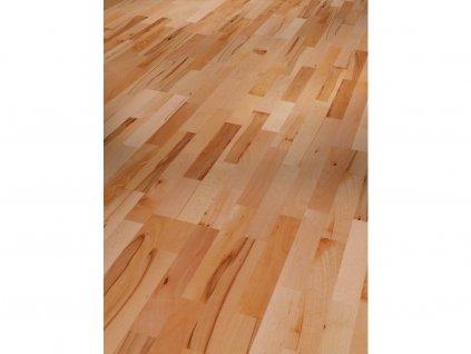 Dřevěná podlaha - Buk Rustikal 1518246 lak (Parador) - třívrstvá