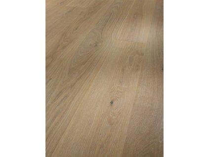 Dřevěná podlaha - Dub Pure Natur 1601485 lak (Parador) - třívrstvá
