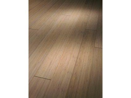 Dřevěná podlaha - Bambus bělený Natur 1257351 lak  (Parador) - třívrstvá