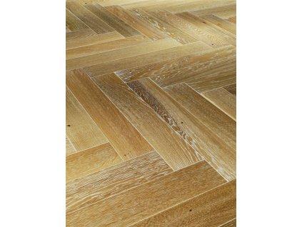 Dřevěná podlaha - Dub bělený Living 1601583 lak (Parador) - třívrstvá
