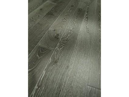 Dřevěná podlaha - Dub šedý bělený Living 1475217 lak (Parador) - třívrstvá