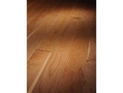 Dřevěná podlaha - Třešeň americká Natur 1257371 lak (Parador) - třívrstvá