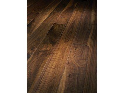 Dřevěná podlaha - Vlašský ořech Natur 1257369 lak (Parador) - třívrstvá