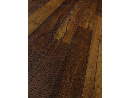 Dřevěná podlaha - Dub smoked elephant skin Classic 1441845 olej (Parador) - třívrstvá