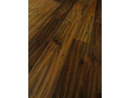 Dřevěná podlaha - Dub smoked handscraped Classic 1441842 olej (Parador) - třívrstvá