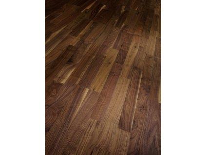 Dřevěná podlaha - Ořešák černý evropský natur 1428936 (Parador) - třívrstvá
