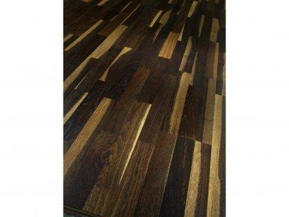 Dřevěná podlaha - Dub kouřový Rustikal 1595121 lak (Parador) - třívrstvá