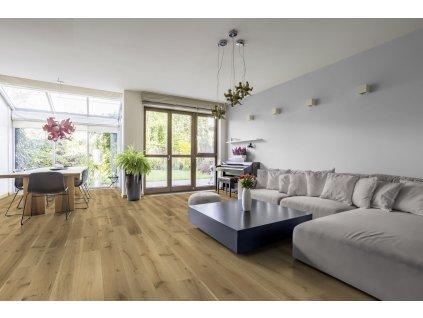 eiche landhausdielen rustico wohnzimmer