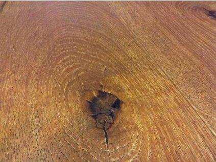 Dřevěná podlaha - Dubové prkno darkbrown country,4 V, kartáčovaný, olej, vosk (Strawberry parkett) - třívrstvá