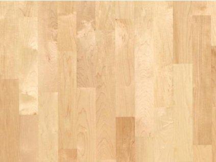 Dřevěná podlaha - Javor kanadský natur lak, 3 p. (Scheucher) - třívrstvá