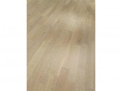 Dřevěná podlaha - Dub bílé póry Rustikal 1595130 lak (Parador) - třívrstvá