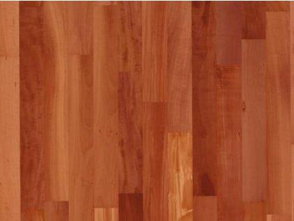 Dřevěná podlaha - Hrušeň pařená struktur lak, 3 p. (Scheucher) - třívrstvá
