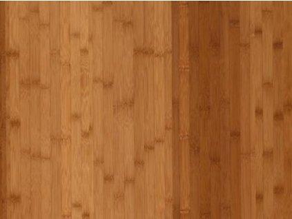 Dřevěná podlaha - Bambus tmavý lak, prkno (Scheucher) - třívrstvá
