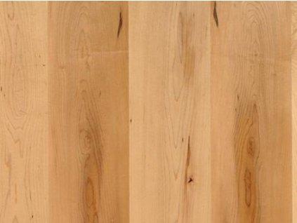 Dřevěná podlaha - Javor kanadský rustikal lak, prkno (Scheucher) - třívrstvá