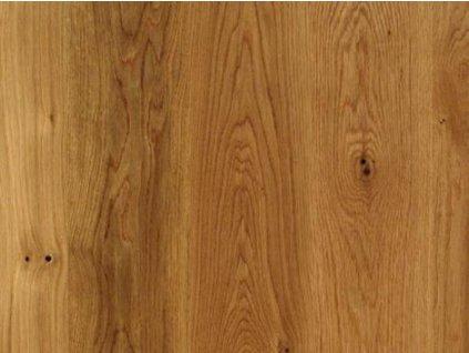 Dřevěná podlaha - Dub natur lak, prkno (Scheucher) - třívrstvá